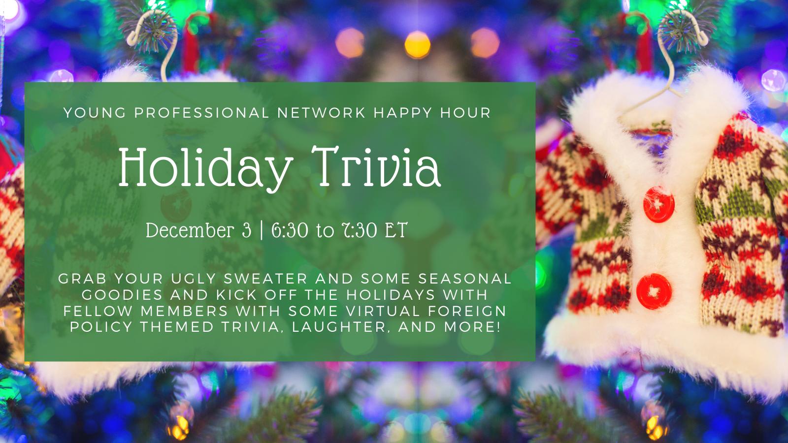 YPN Holiday Trivia