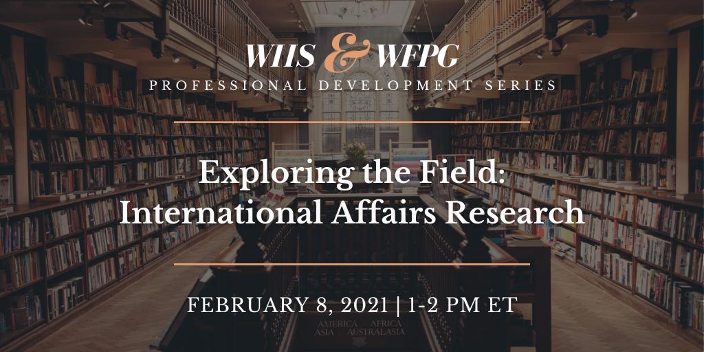 International Affairs Research