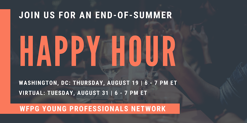 End-of-Summer Happy Hour