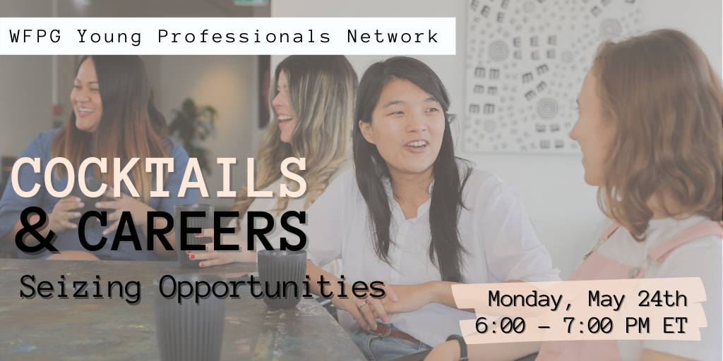 Cocktails and Careers: Seizing Opportunities