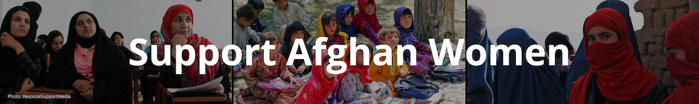 Support Afghan Women