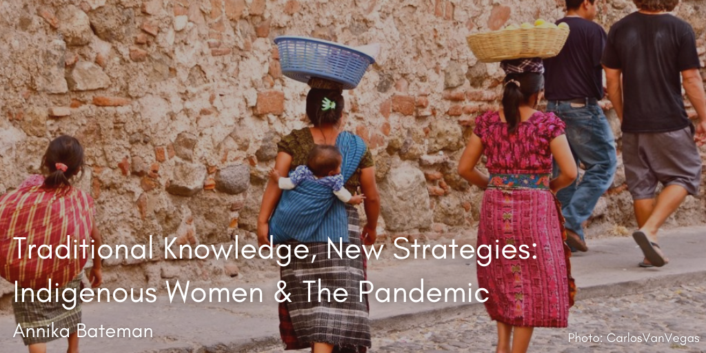 Blog Post: Traditional Knowledge, New Strategies: Indigenous Women and the Pandemic