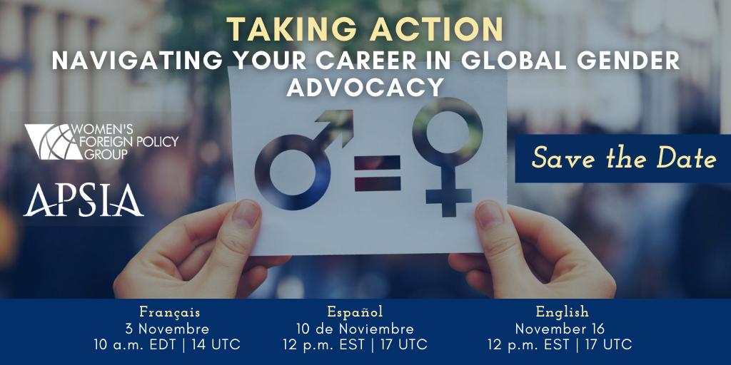 Global Advocacy Career Panel