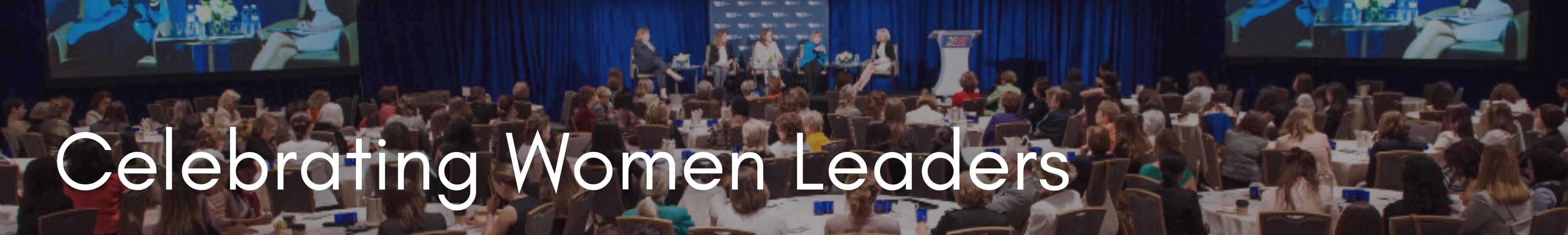 Celebrating Women Leaders Banner